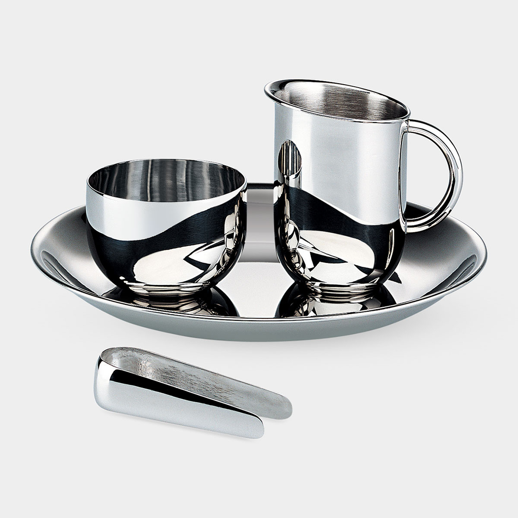 ALESSI シュガーボウル クリーマー セット