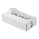 Button Tissue Box ホワイト