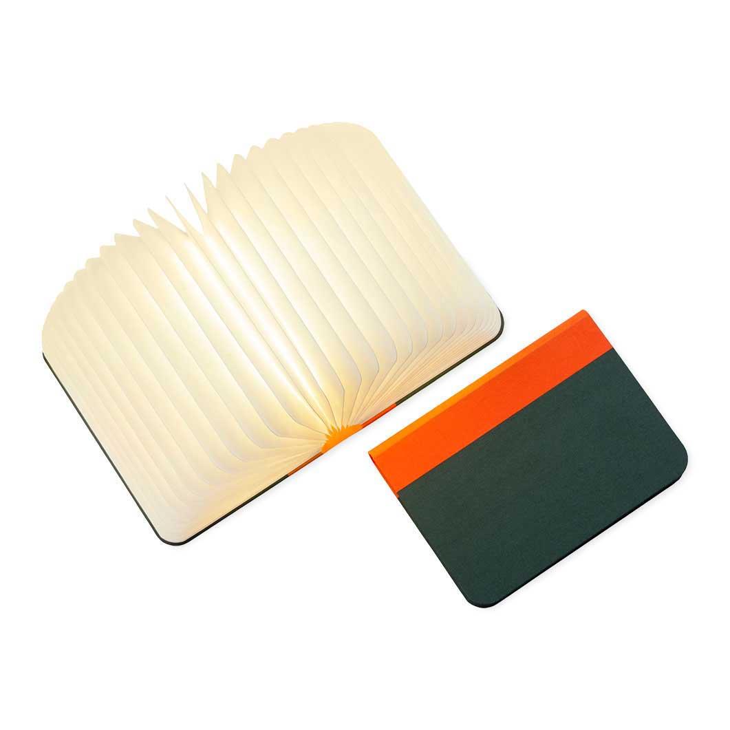 Lumiosf Fabric ブックランプ オレンジ/グリーンの商品画像