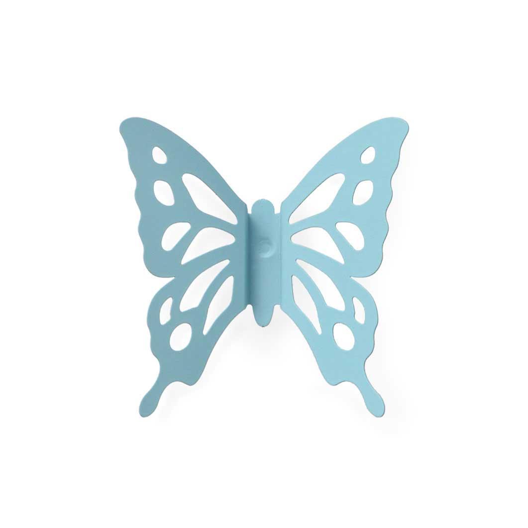 バタフライ ピンバッジ ブルーの商品画像