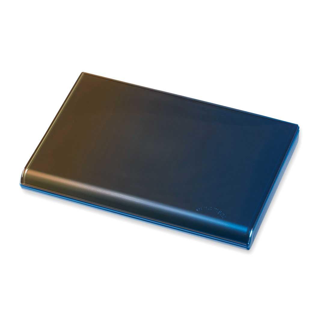 グラデーション カードケース ブラウン/ブルーの商品画像