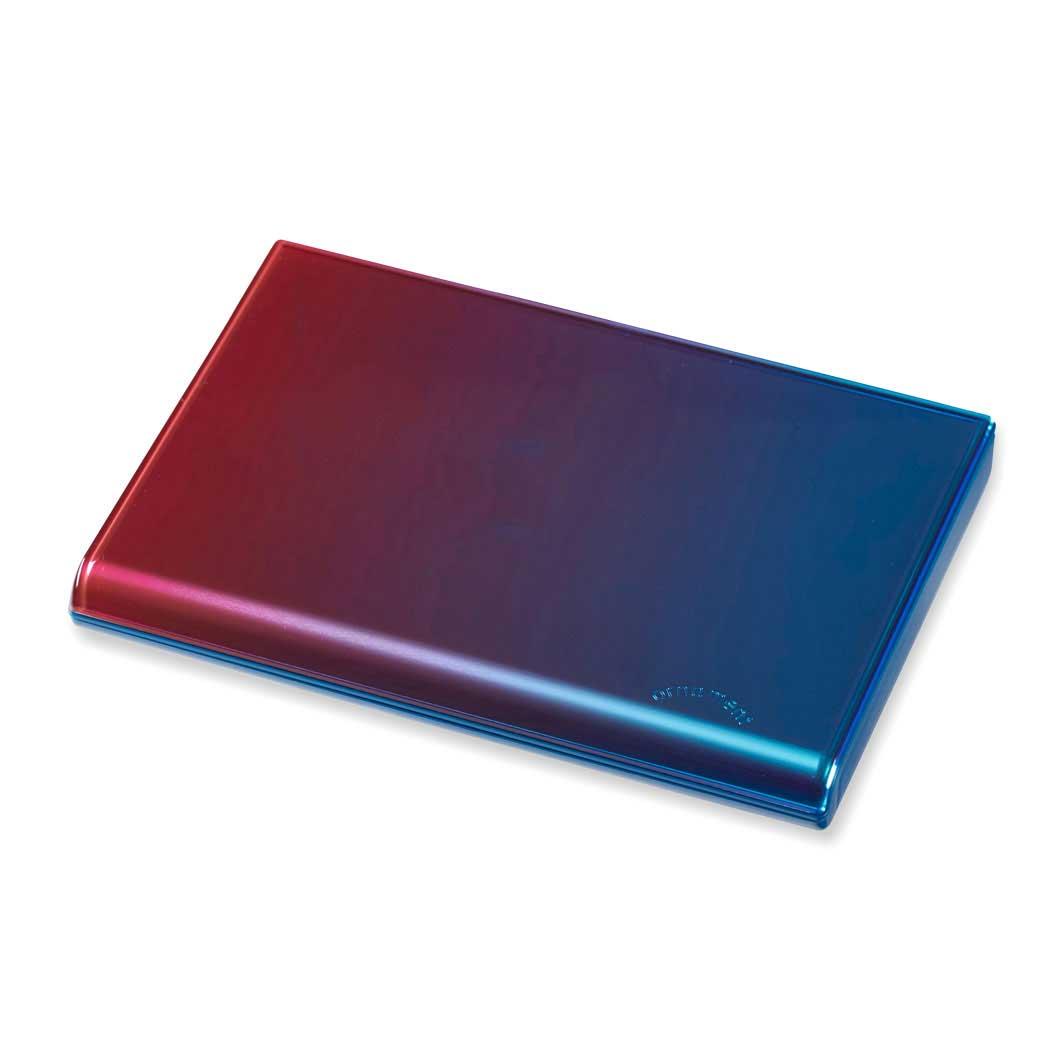 グラデーション カードケース ピンク/ブルーの商品画像