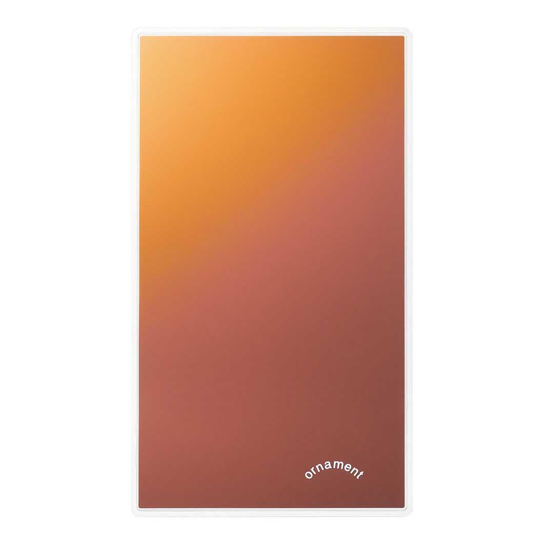 グラデーションミラー レッドの商品画像