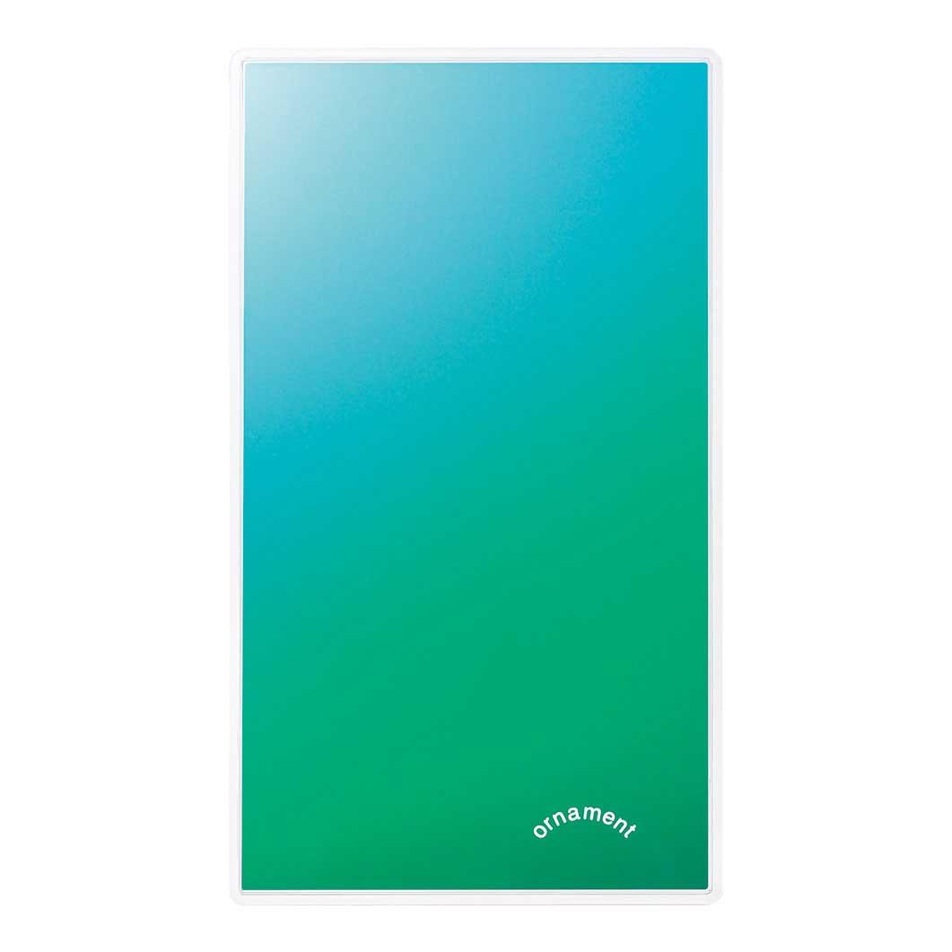 グラデーションミラー グリーンの商品画像