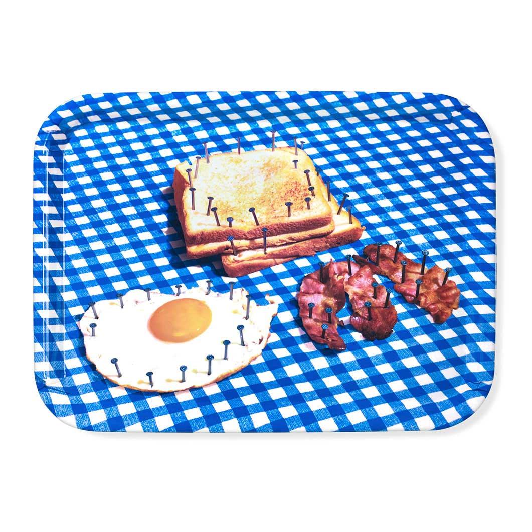 Maurizio Cattelan:メラミン トレイ Breakfastの商品画像