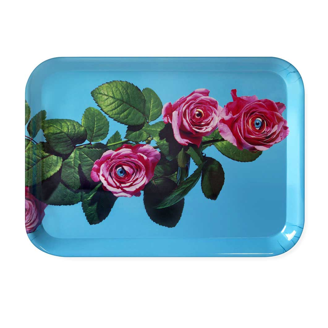 Maurizio Cattelan:メラミン トレイ Rosesの商品画像