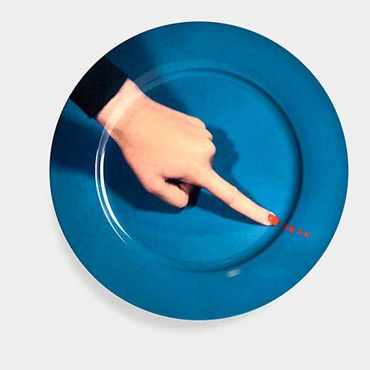 Maurizio Cattelan:プレート Fingerの商品画像
