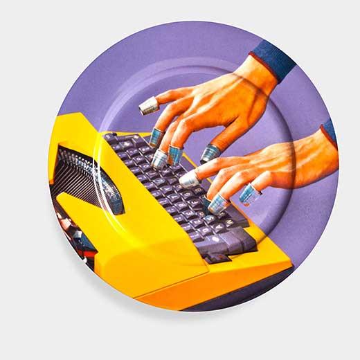 Maurizio Cattelan:プレート Typewriterの商品画像