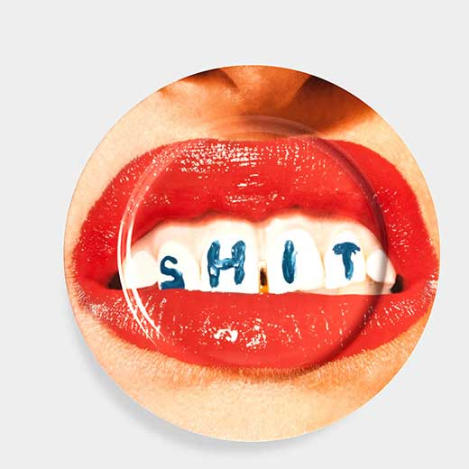 Maurizio Cattelan:プレート Denturesの商品画像