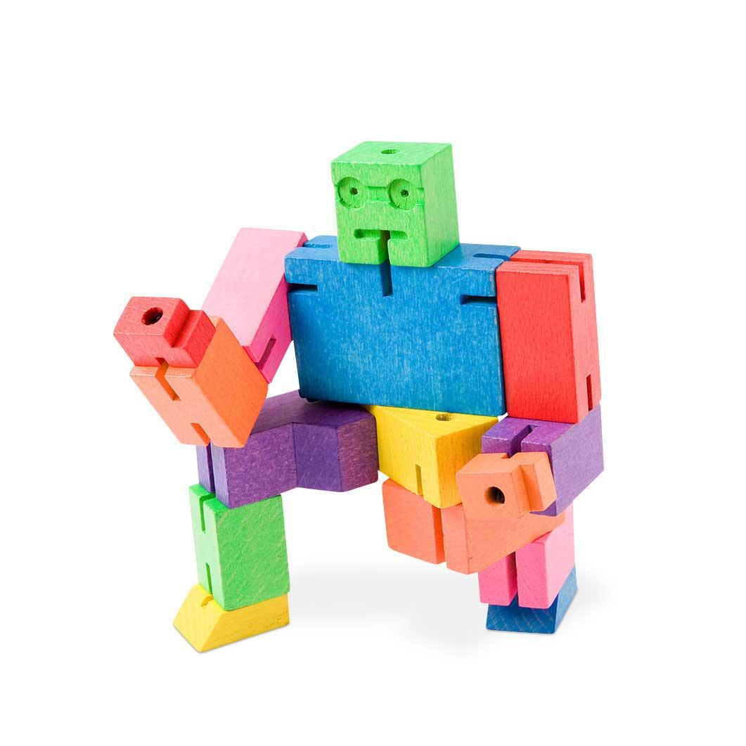 キューボット ウッドトイ マルチカラーの商品画像
