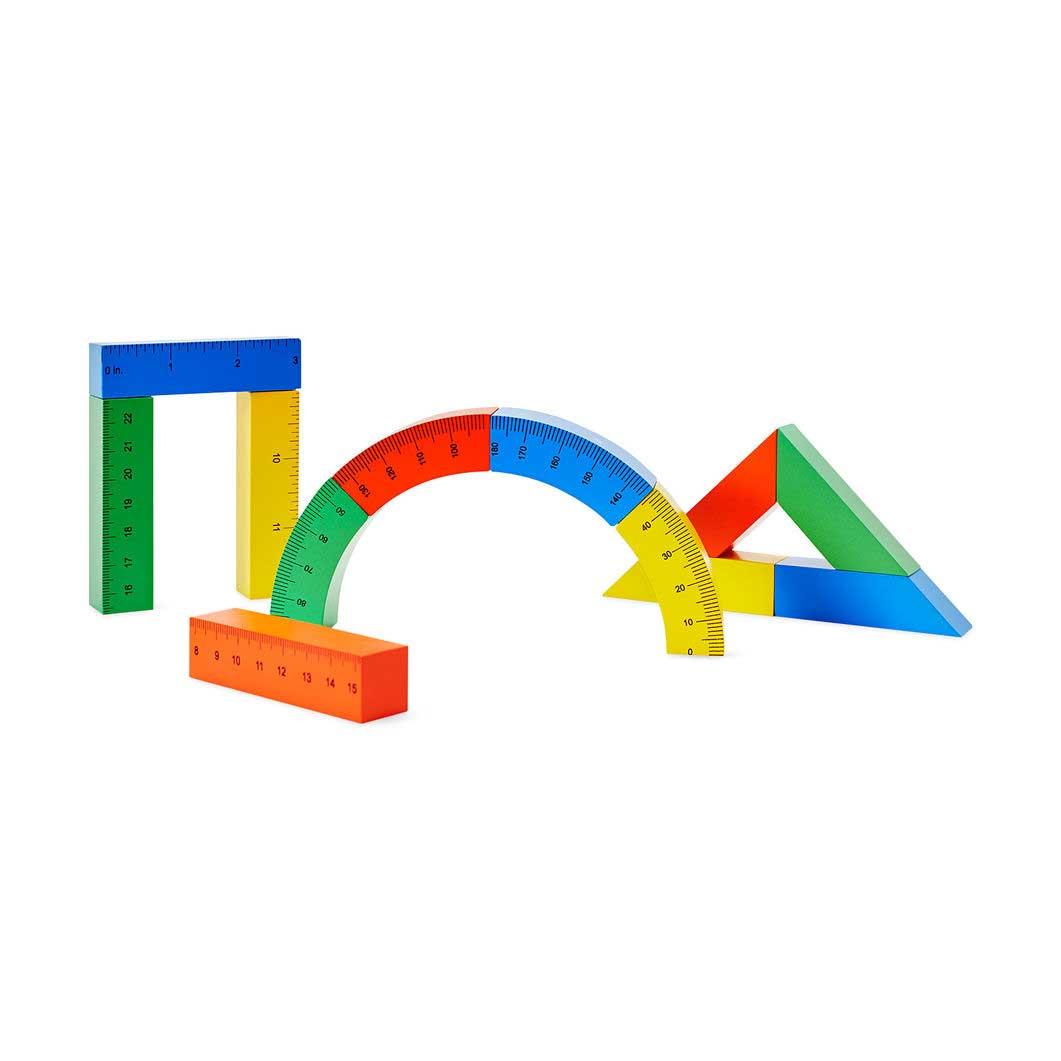 リトルアーキテクト ブロックルーラー セットの商品画像