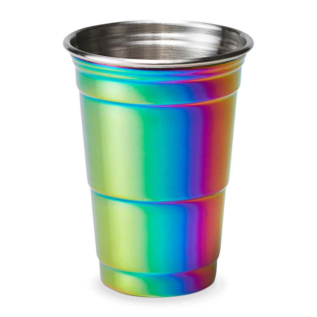パーティカップ レインボーの商品画像