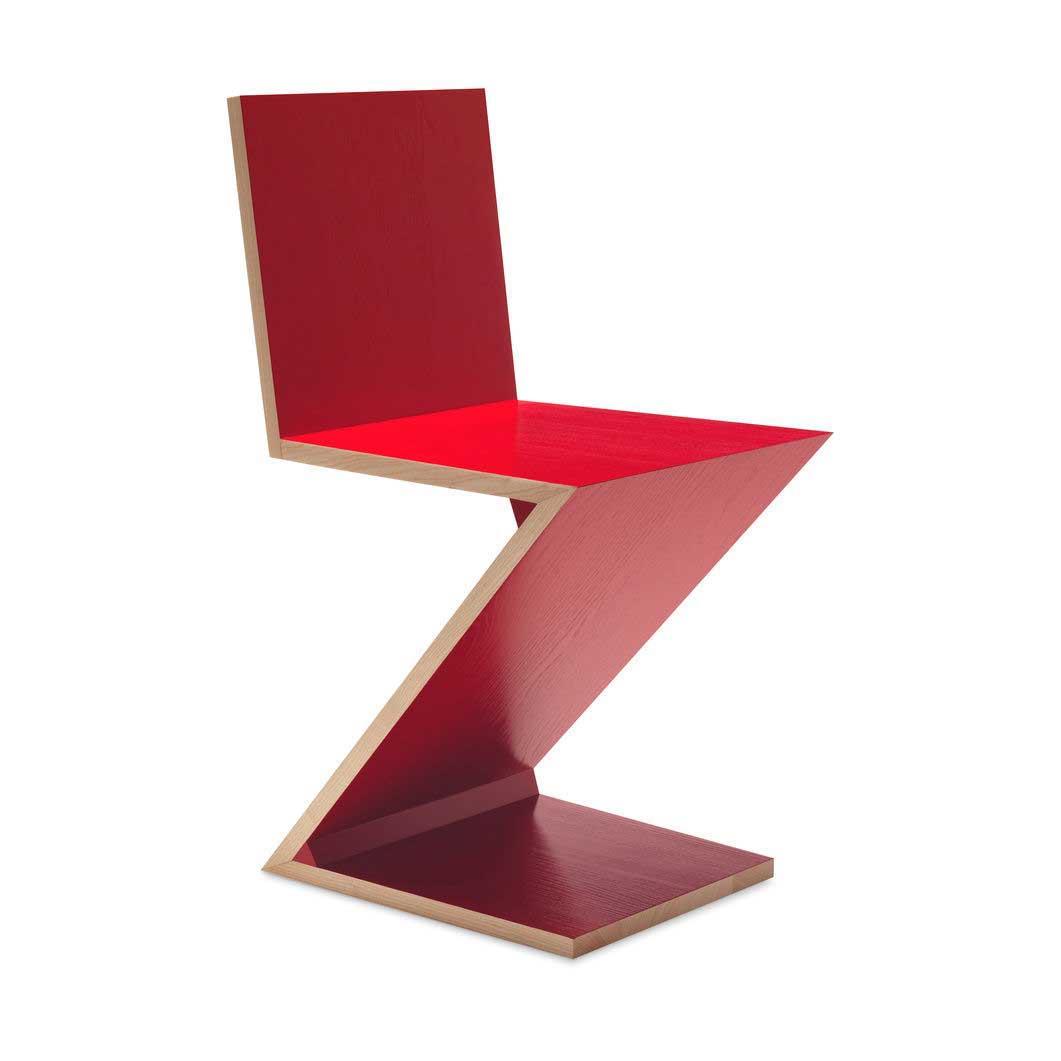 280 ZIG-ZAG チェア レッドの商品画像