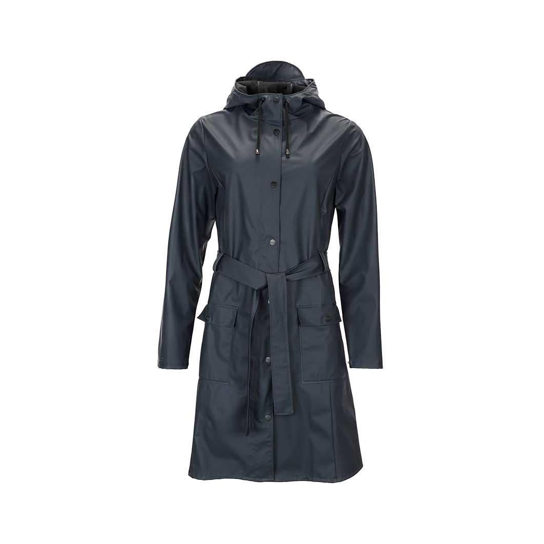 RAINS カーブ ジャケット ブルー XXS/XSの商品画像