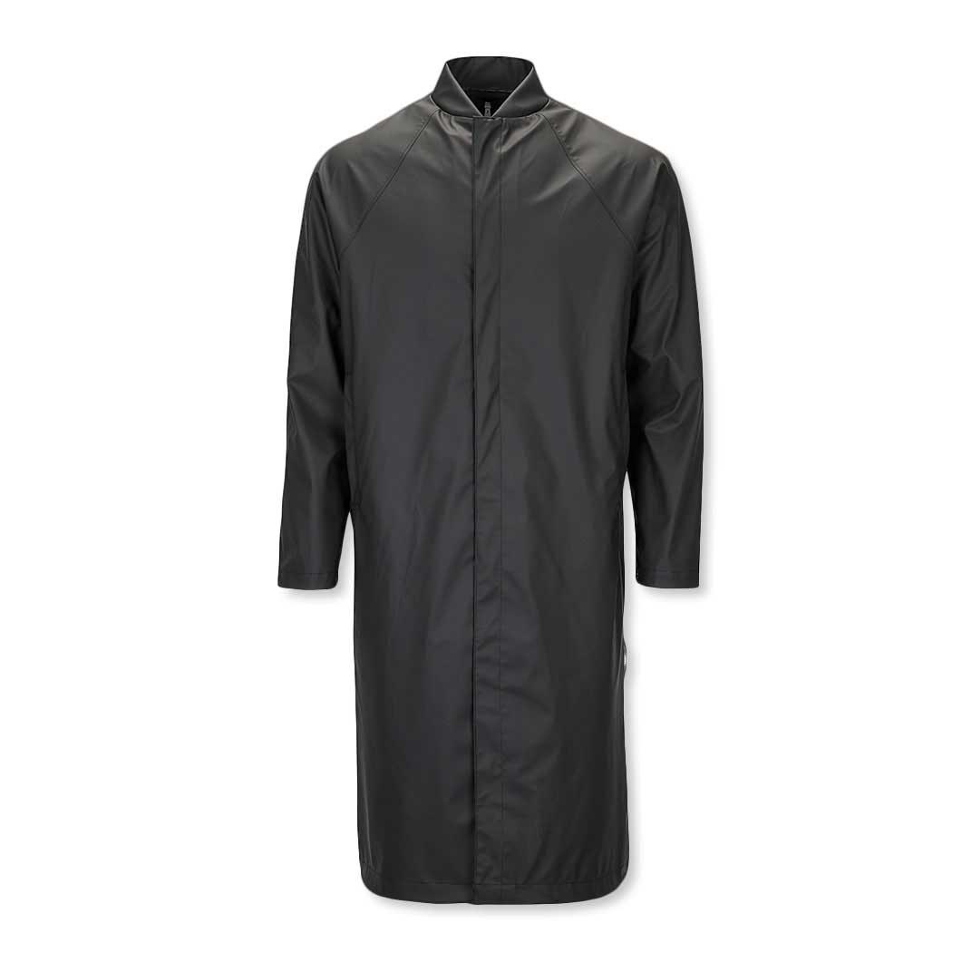 RAINS マッキントッシュ コート ブラック S/Mの商品画像