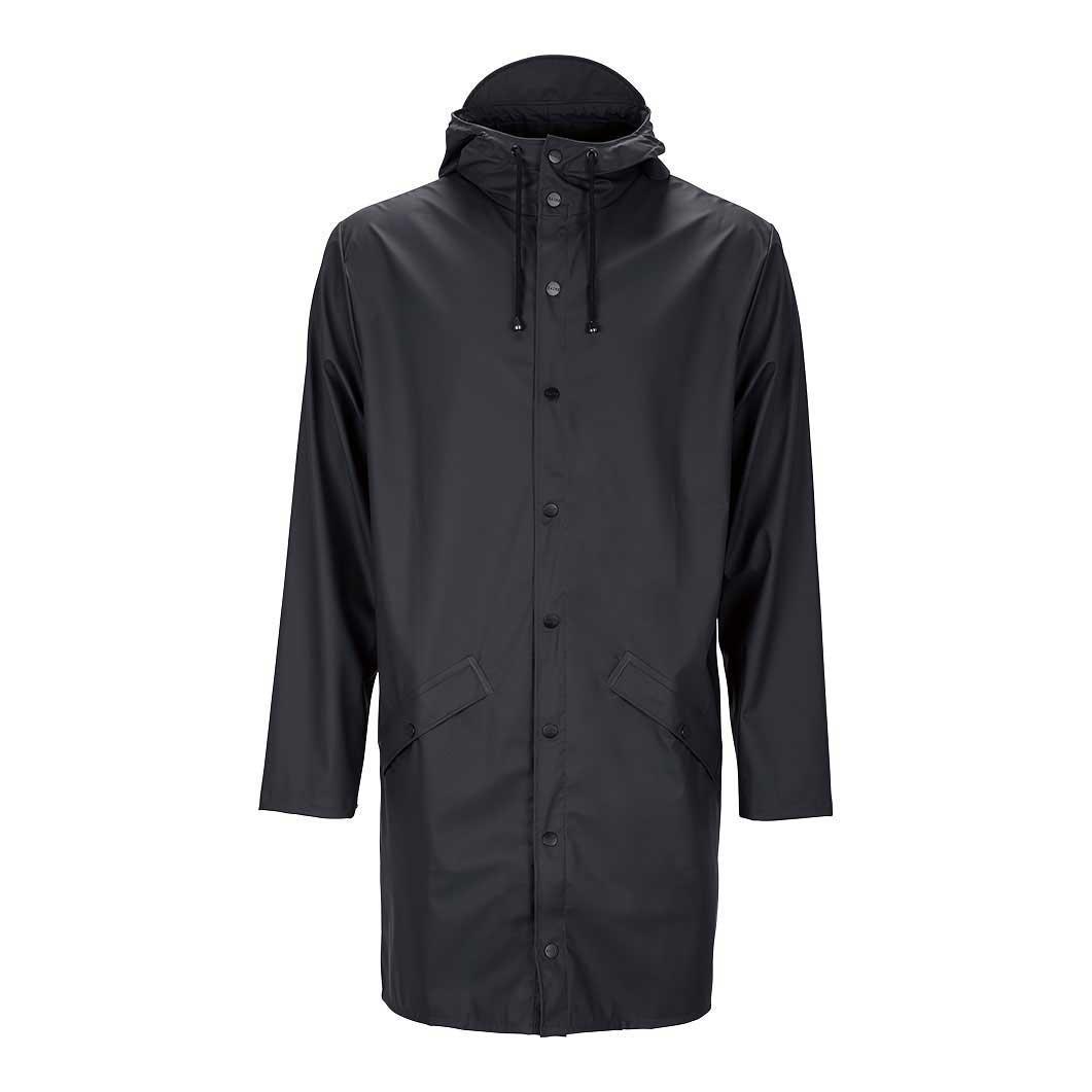 RAINS ロングジャケット ブラック S/Mの商品画像