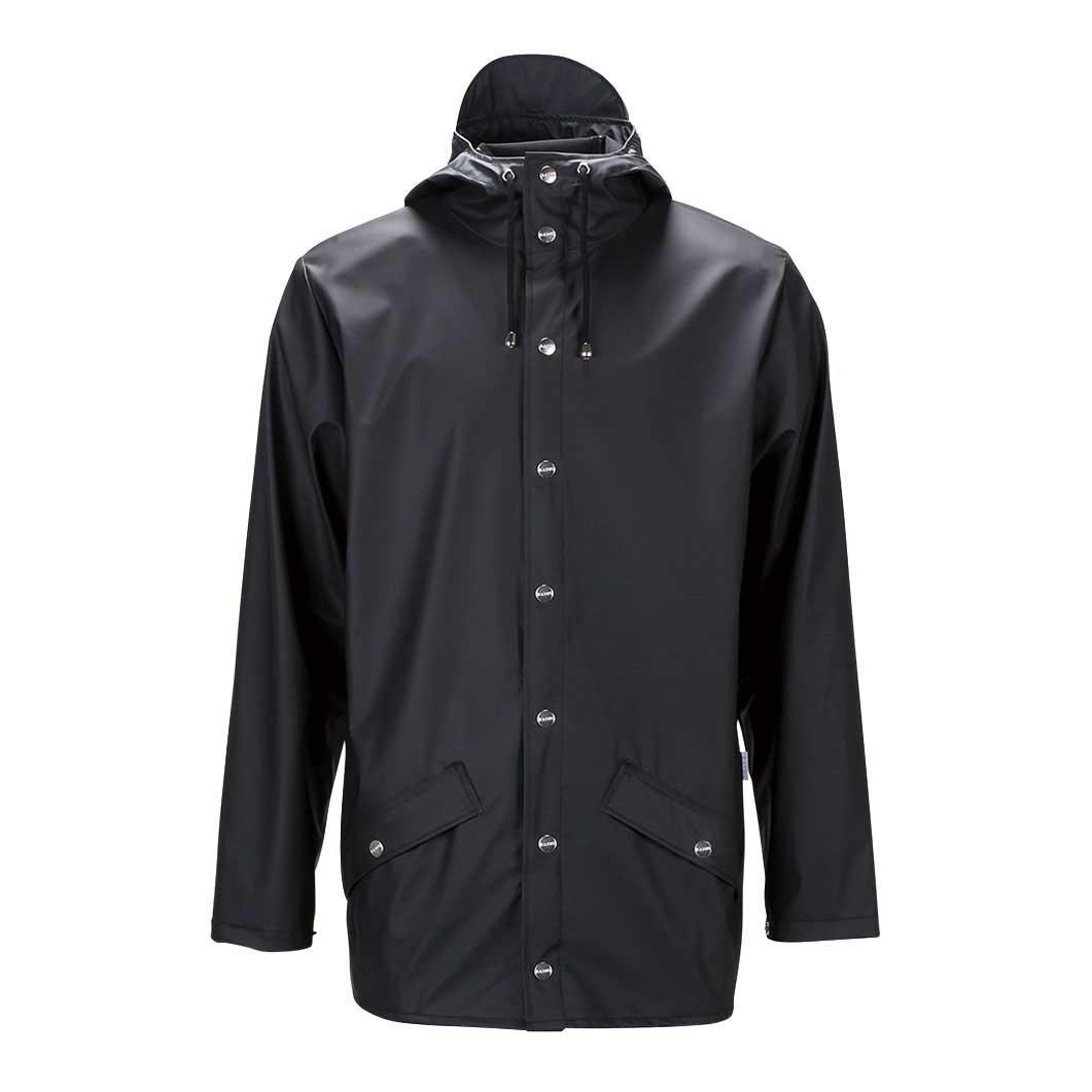 RAINS グロッシー ジャケット ブラック S/Mの商品画像