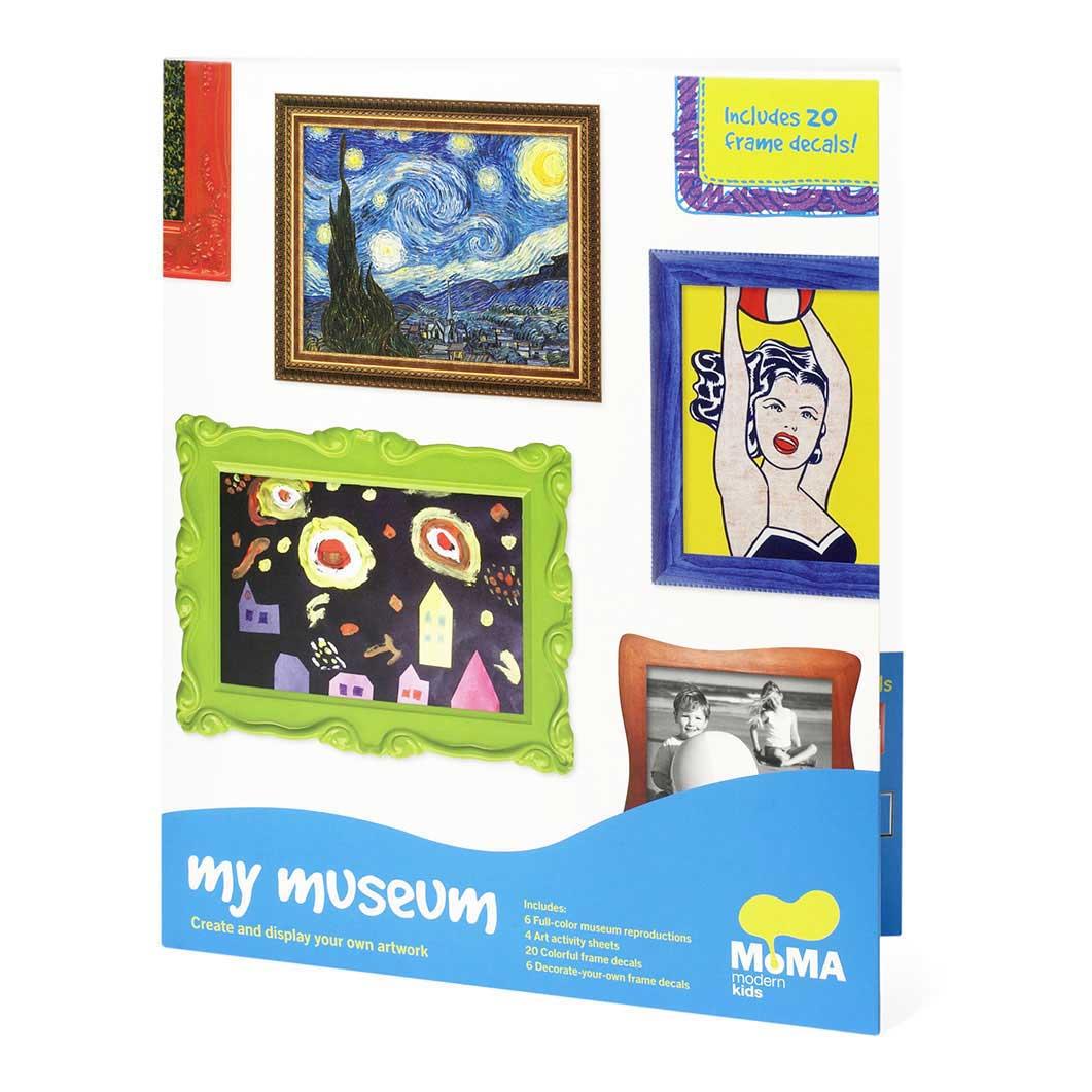 MoMA My Museum お絵かきブックの商品画像