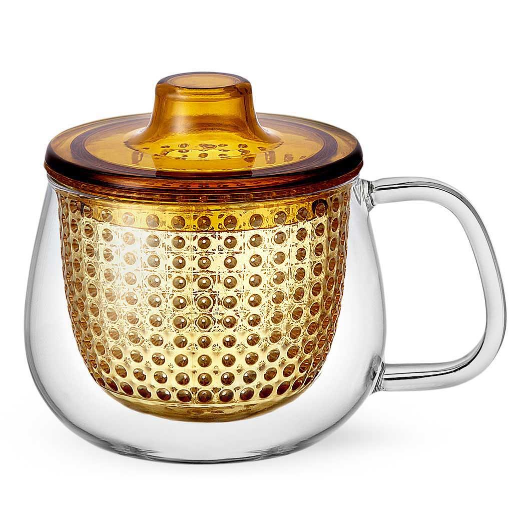 UNIMUG 茶こし マグ イエローの商品画像