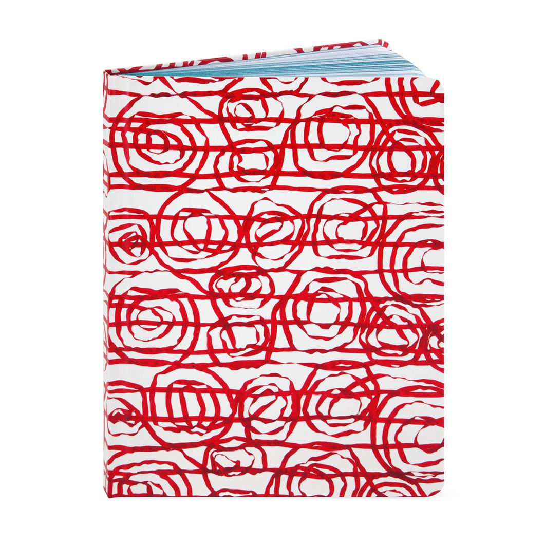MoMA テキスタイル ノートブック レッドの商品画像