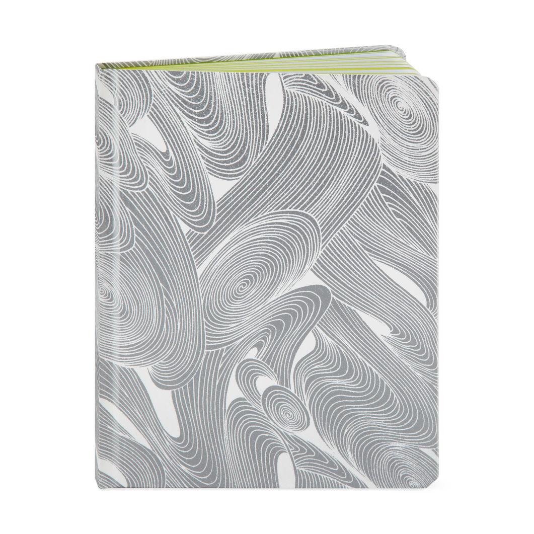 MoMA STOREMoMA テキスタイル ノートブック シルバー
