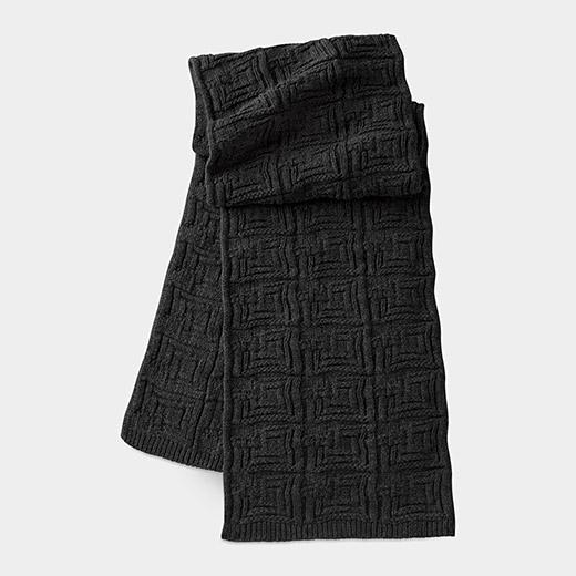 MoMA FLW エニス スカーフ ブラックの商品画像