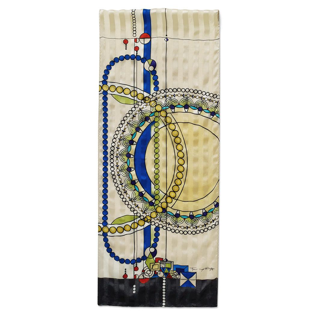MoMA FLW ジュエリーショップウインドー スカーフ ゴールドの商品画像