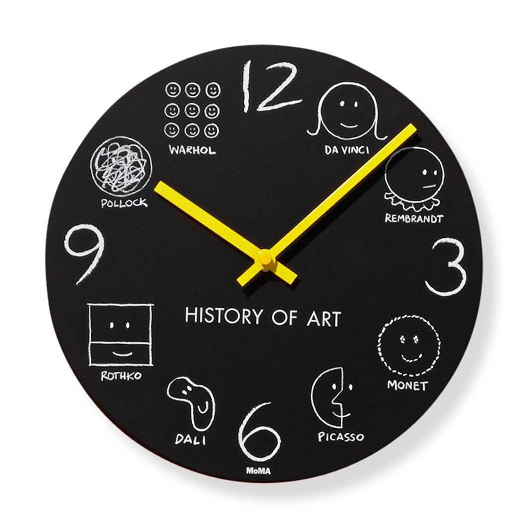 MoMA ヒストリーオブアート クロックの商品画像