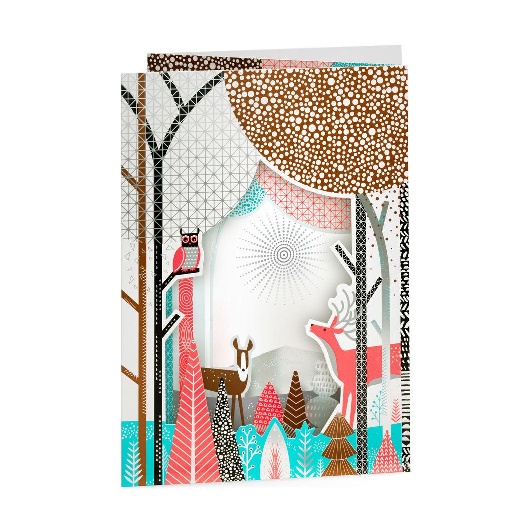 MoMA クリスマスカード ウィンターフォレスト (8枚セット)の商品画像
