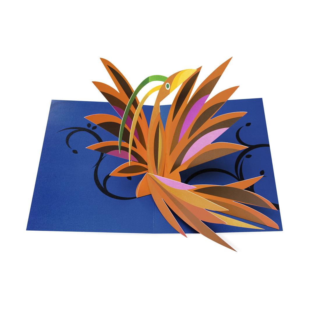 MoMA ポップアップカード ラディアントバード(6枚セット)の商品画像