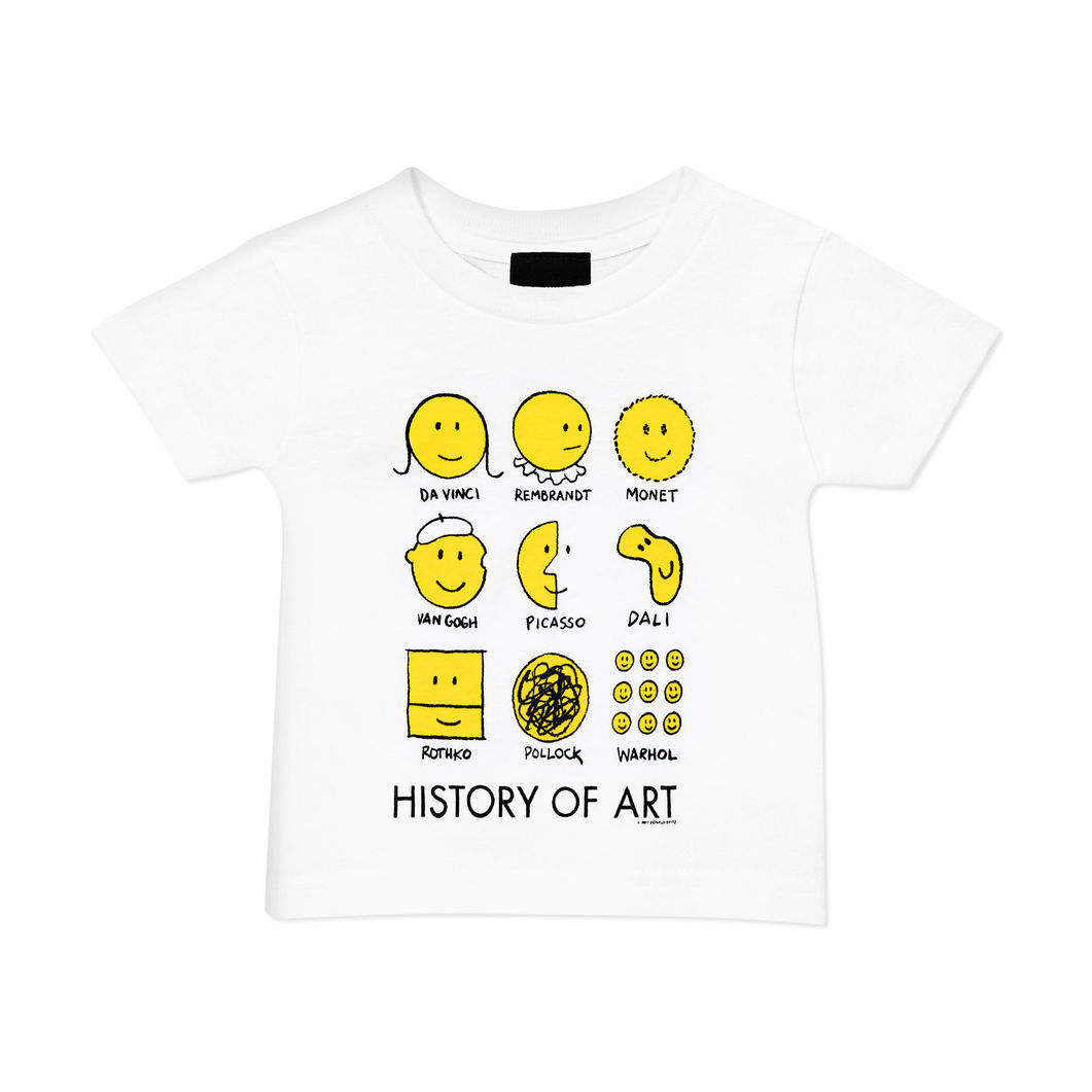 <MoMA> MoMA ヒストリーオブアート ユース Tシャツ 6Y