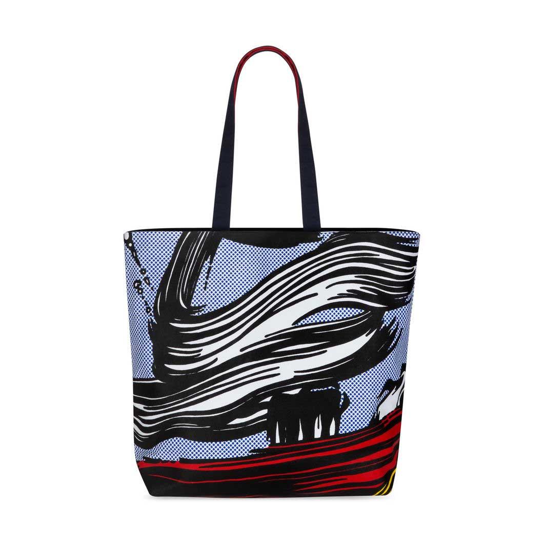 MoMA リキテンスタイン キャンバス トートバッグ Brushstrokeの商品画像