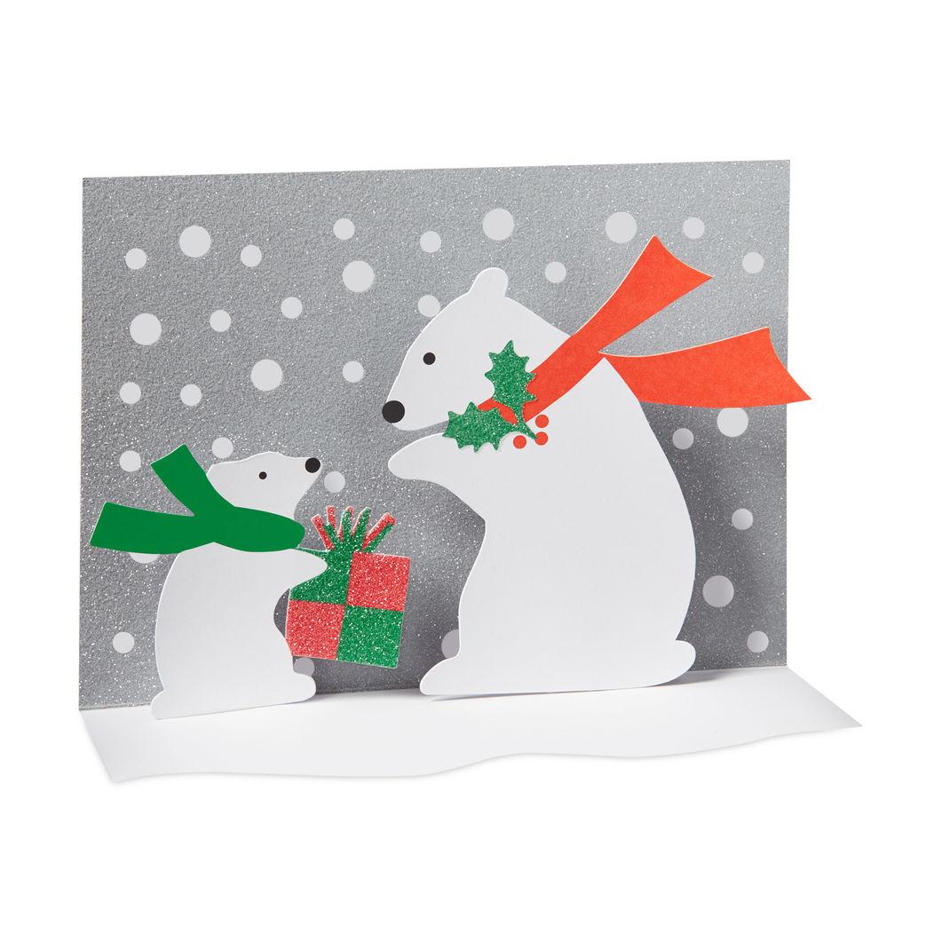 MoMA クリスマスカード シロクマ (8枚セット)の商品画像
