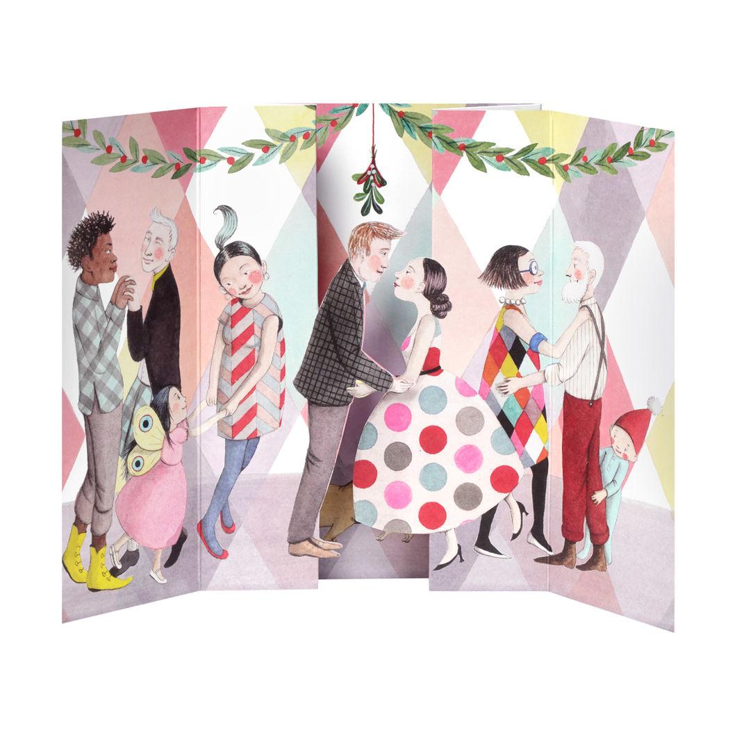 MoMA クリスマスカード ヤドリギ (8枚セット)の商品画像