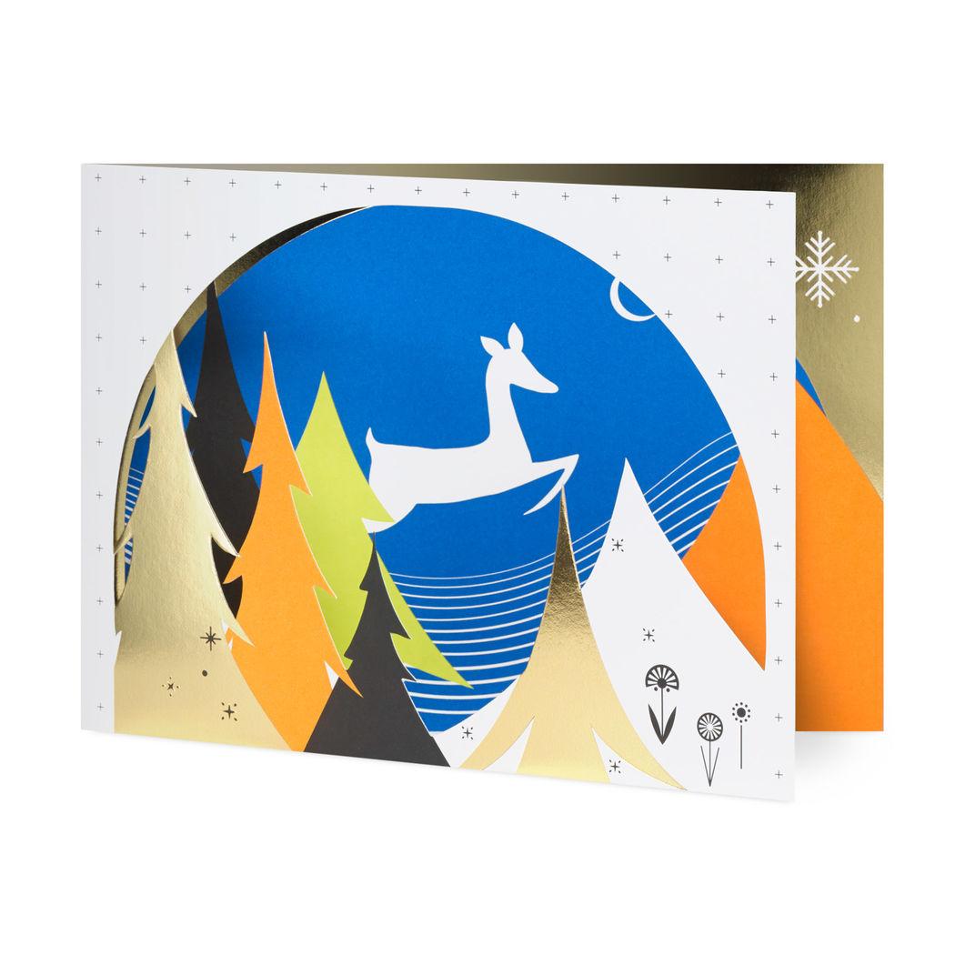 MoMA クリスマスカード リーピングフォウン (8枚セット)の商品画像