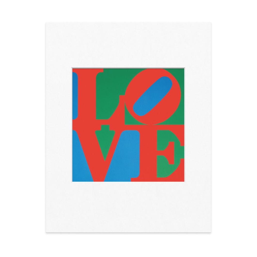 インディアナ:LOVE マット付ポスターの商品画像