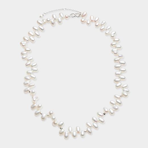 <MoMA> パール・シルバーナゲット ネックレス