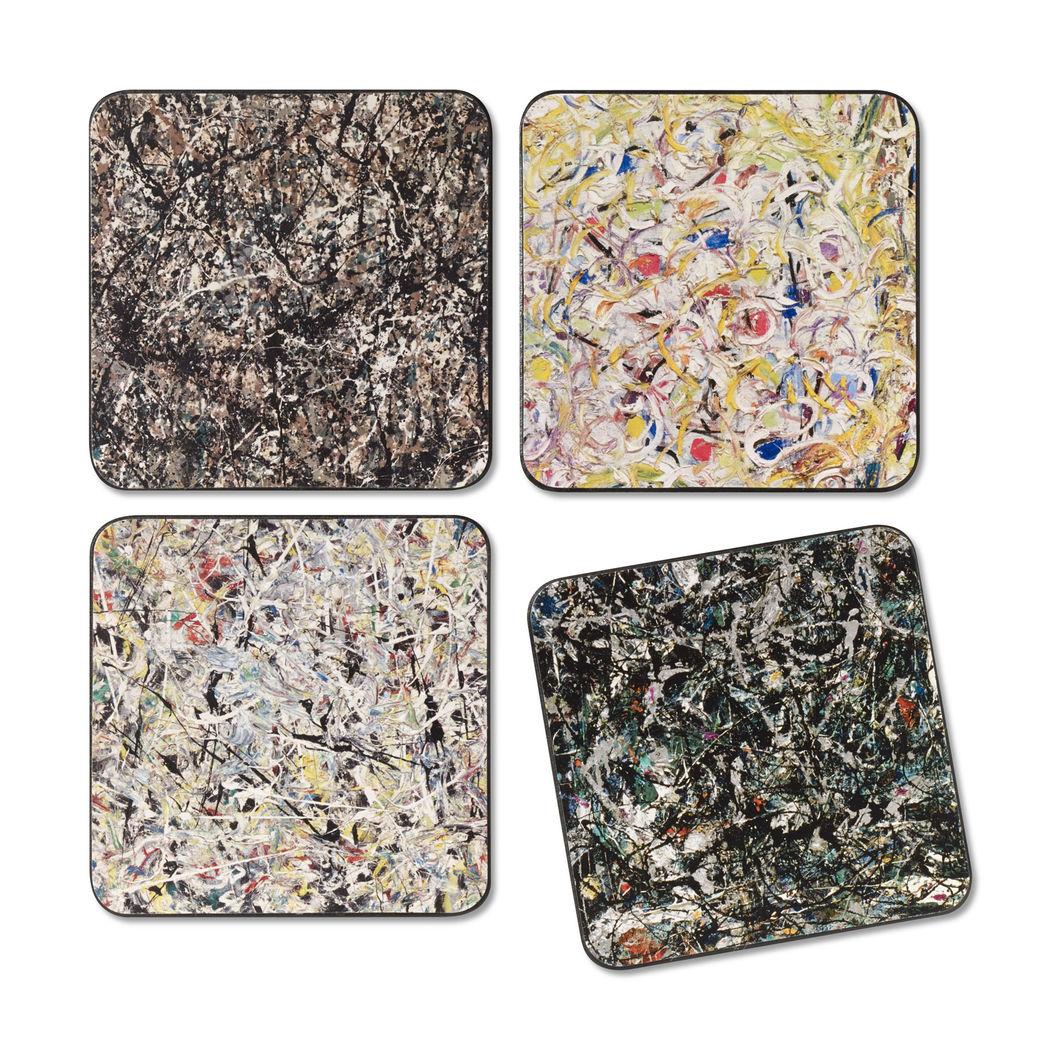 MoMA ポロック コースター(4枚セット)の商品画像