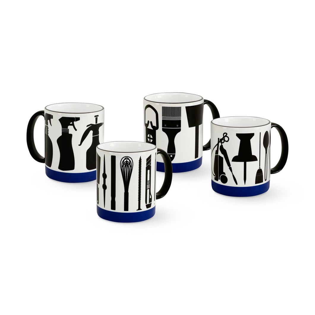 MoMA STOREマクギネス:マグセット Untitled(4Mugs: Elements: Studio Tools)