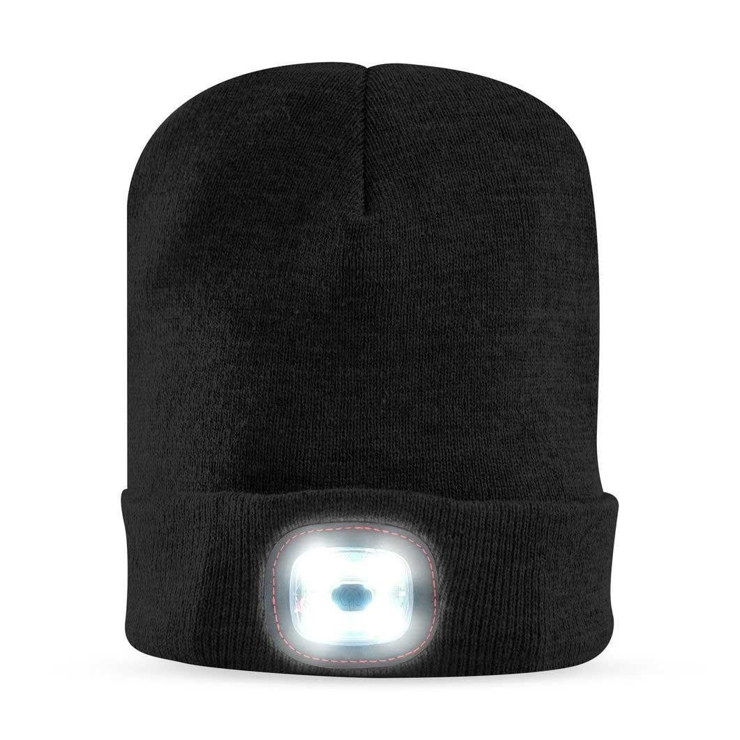 X-Cap ライトアップ キャップ ブラックの商品画像