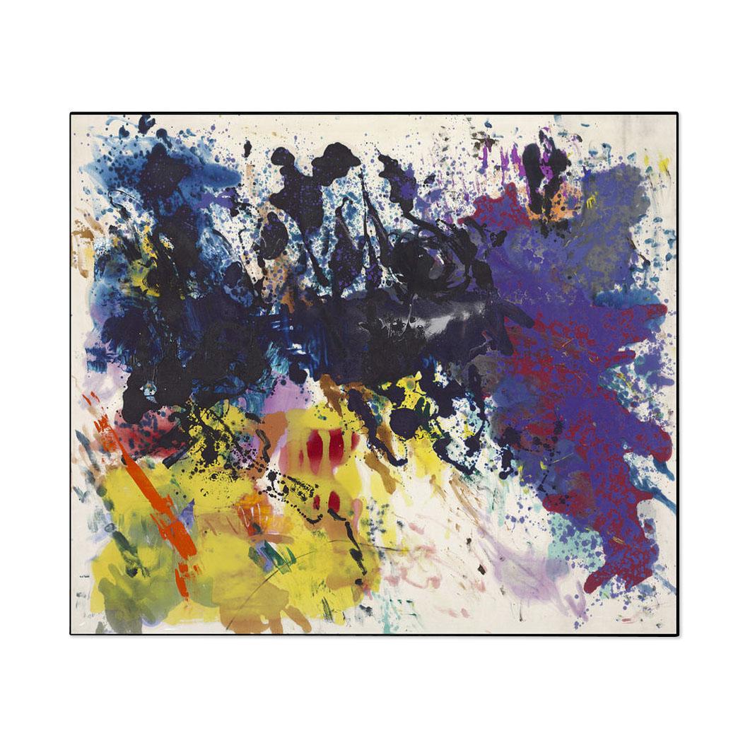 モーリス・ルイス:UNTITLED 5-76 フレーム付ポスターの商品画像
