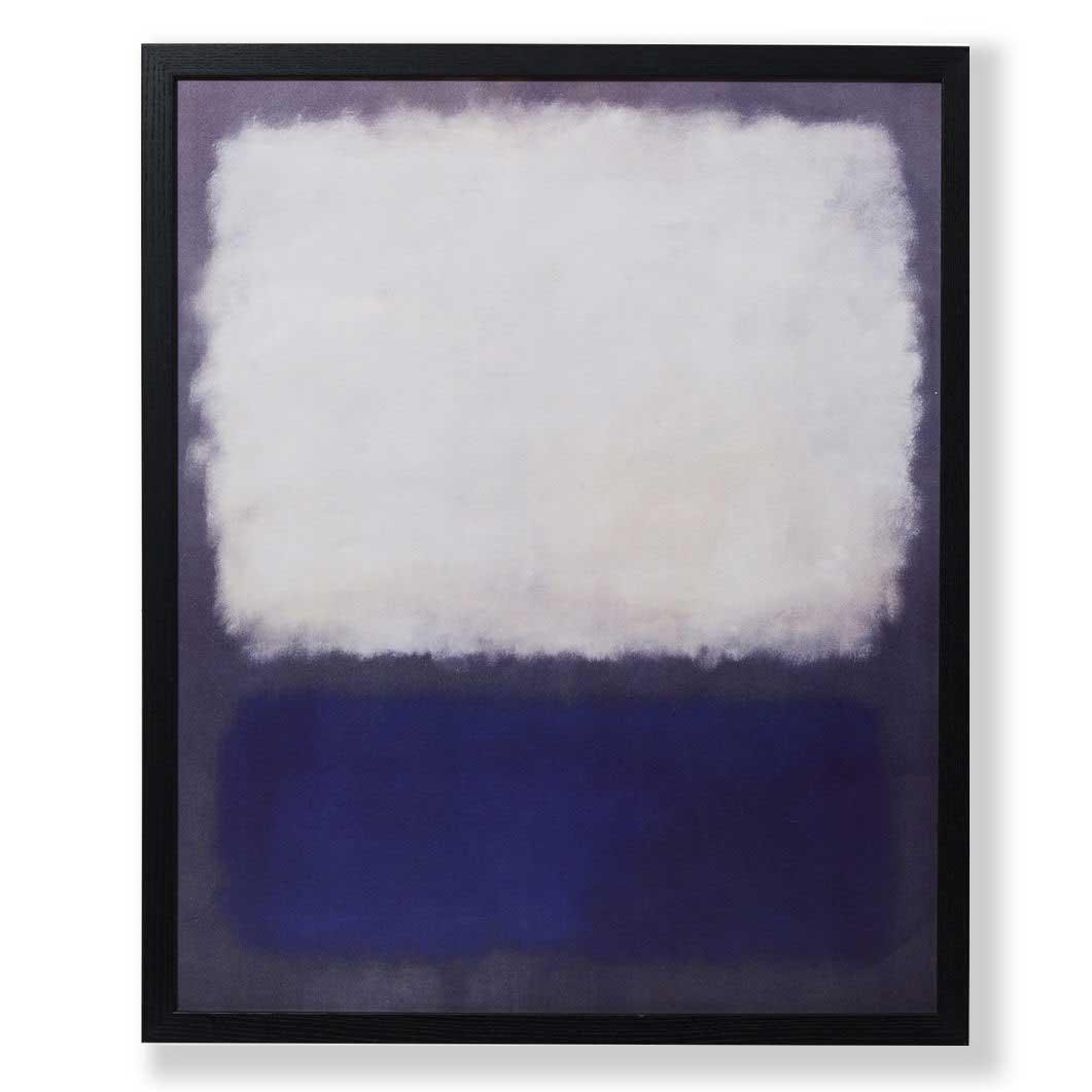 ロスコ:BLUE AND GREY フレーム付ポスターの商品画像