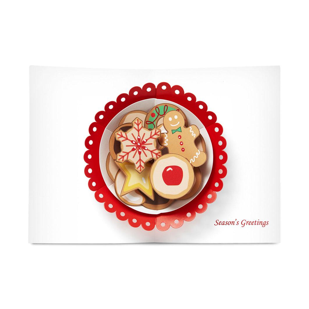 MoMA クリスマスカード クリスマスクッキー (8枚セット)の商品画像