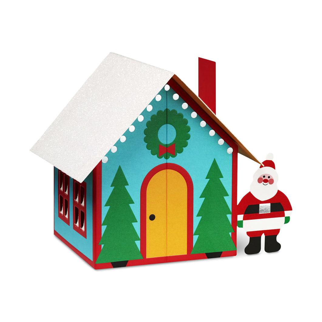 MoMA クリスマスカード サンタの家 (8枚セット)の商品画像