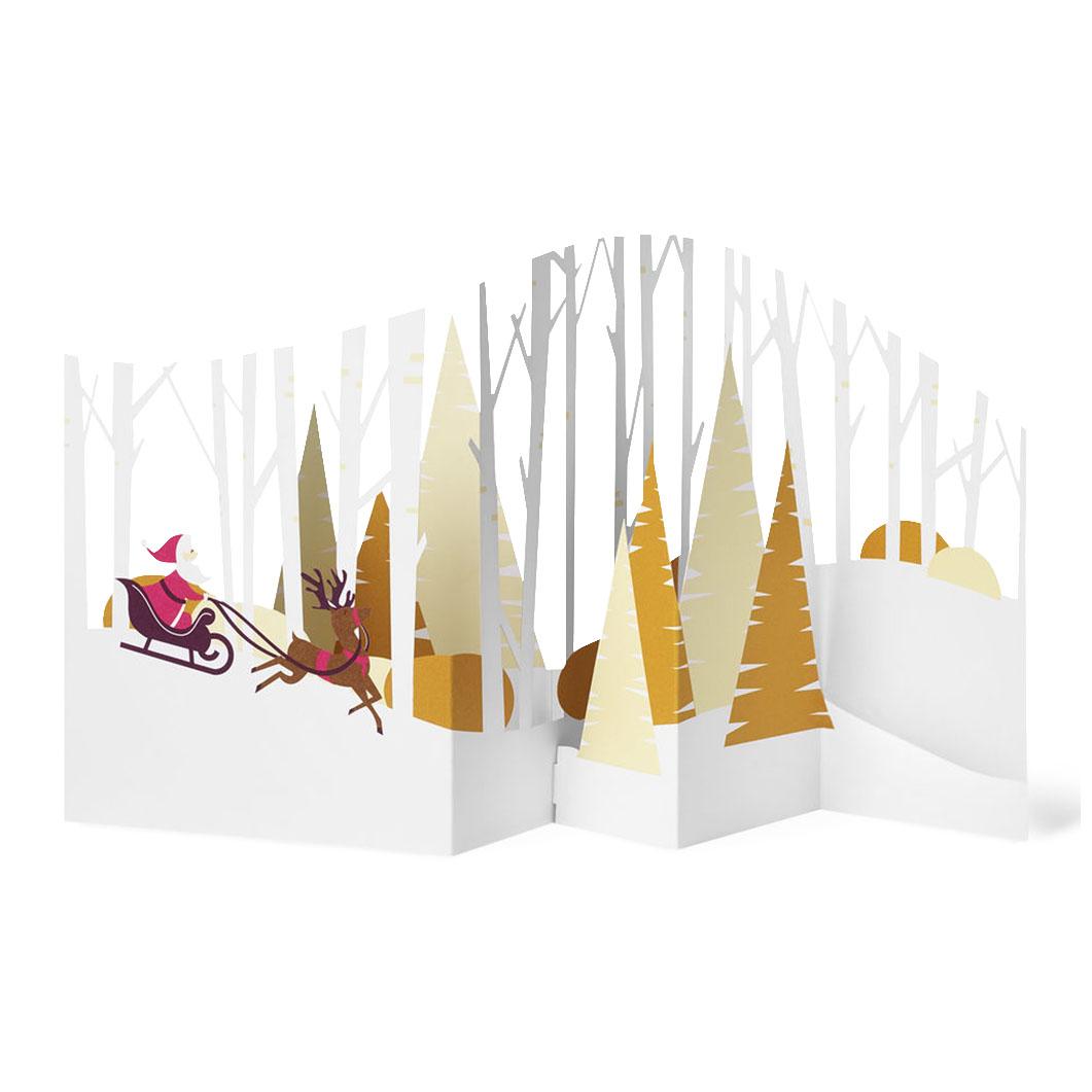 MoMA クリスマスカード スレイライド (8枚セット)の商品画像