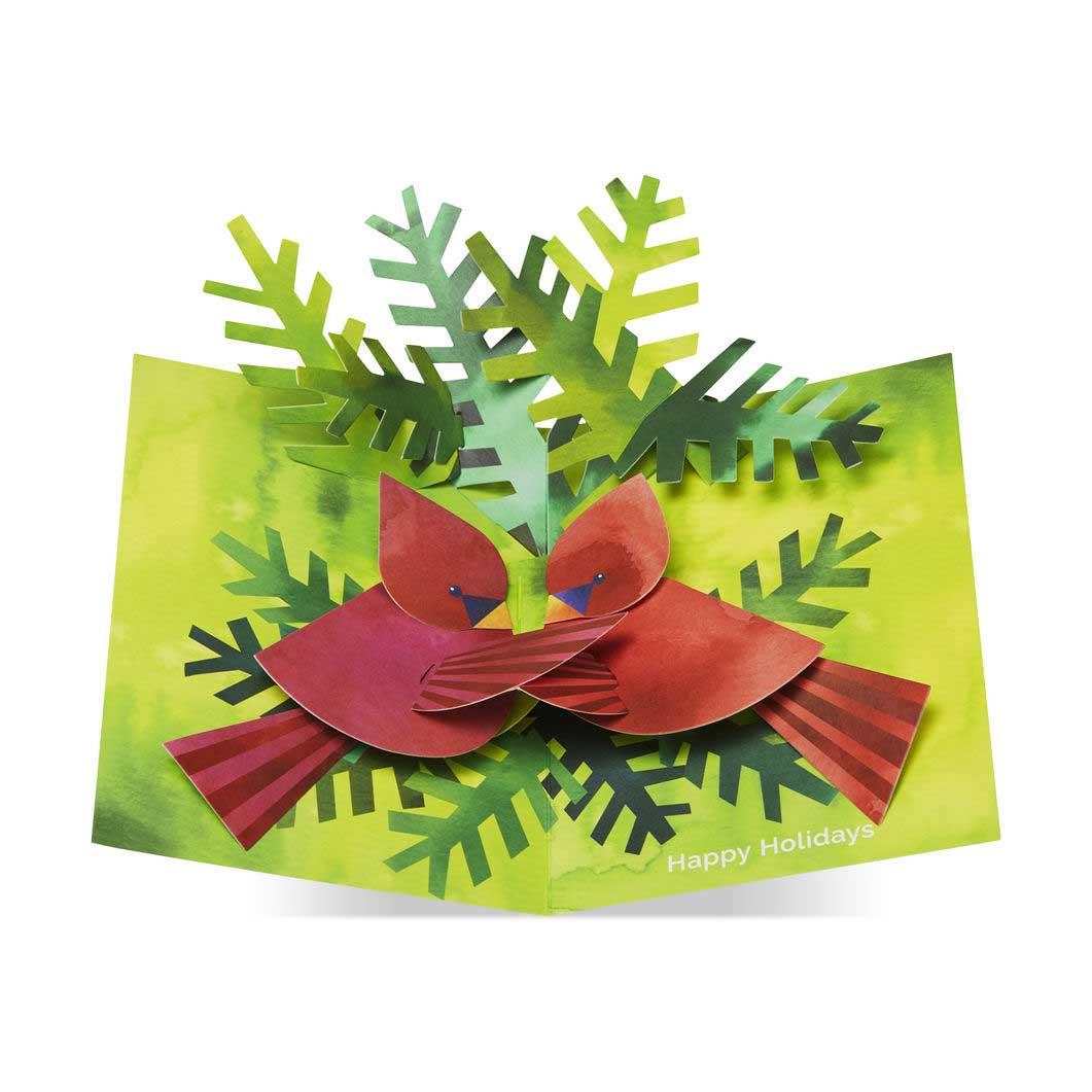 MoMA クリスマスカード ネスティングカーディナル (8枚セット)の商品画像