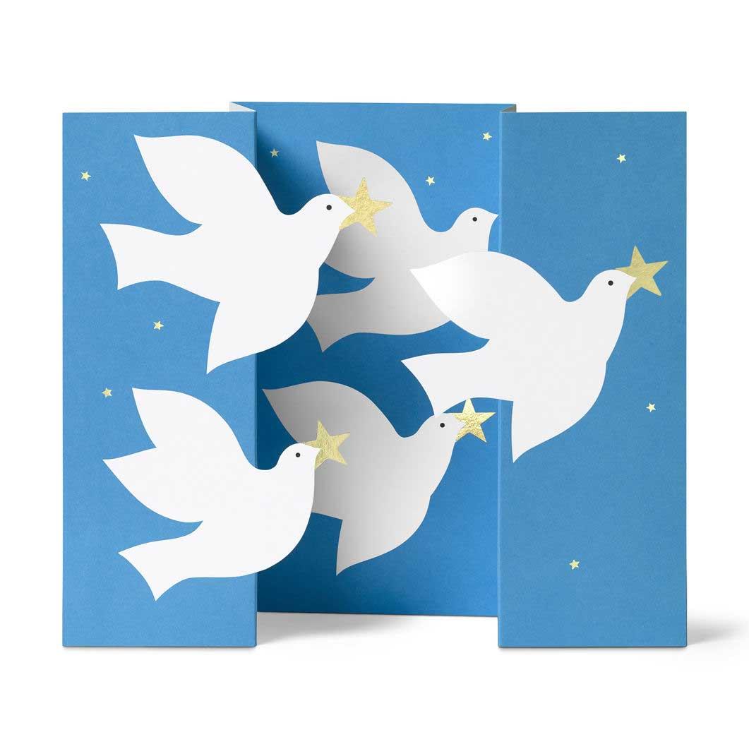 MoMA クリスマスカード ハト (8枚セット)の商品画像