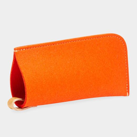 Graf & Lantz メガネポーチ オレンジの商品画像