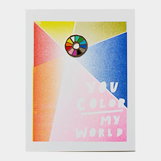 ラペルピンカード カラーの商品画像