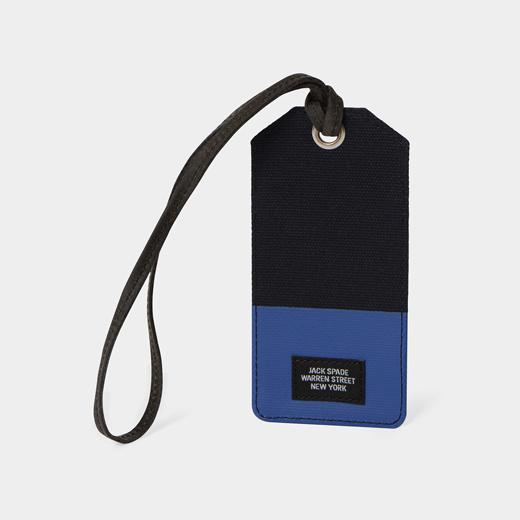 JackSpade ラゲージタグ ブルーの商品画像
